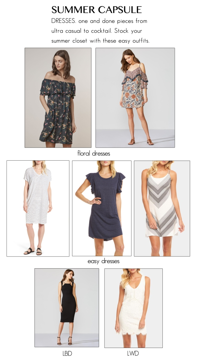 Blog-SummerCapsule-Dresses